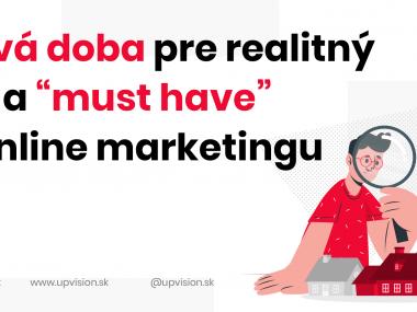 """Nová doba pre realitný trh a """"must have"""" v online marketingu"""